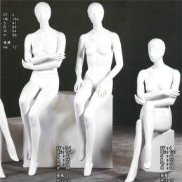 模特兒坐姿-首