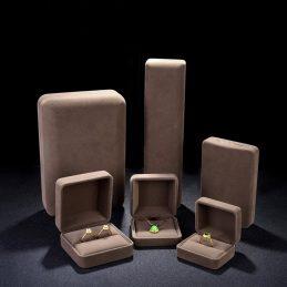 咖啡色首饰包装盒-首