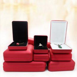 红色铁盒戒指盒-首