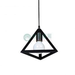 【現貨】工業風造型燈具-三角款