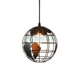 【現貨】工業風造型燈具-地球款