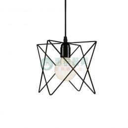 【現貨】工業風造型燈具-菱框款
