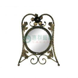 仿青銅鍛花桌鏡WS