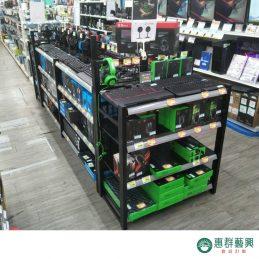 層架範例B-電競商品貨架