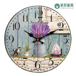 歐式午茶風時鐘