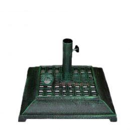 古銅綠鑄鐵方形傘座