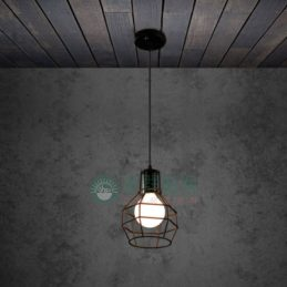 【現貨】工業風造型燈具[燈罩簍空款]