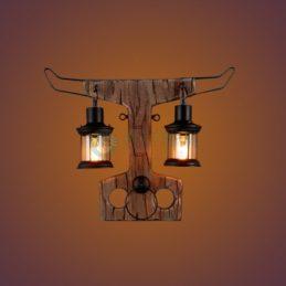 天平造型木壁燈
