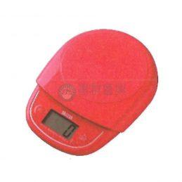 料理用小電子秤-料理秤紅色(3kg)