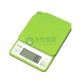 料理用小電子秤-料理秤綠色(1kg)