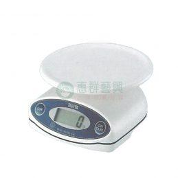 料理用小電子秤-防水型(2kg)