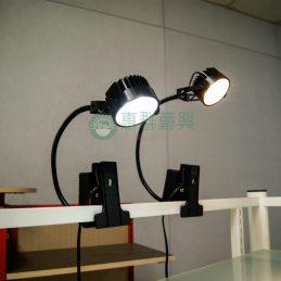 黑色LED夾燈A
