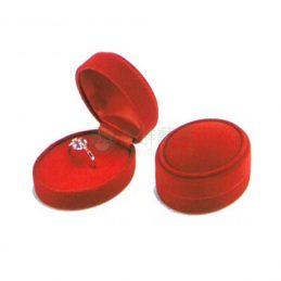 圓絨戒指盒