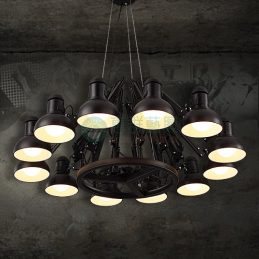工業風大蜘蛛燈