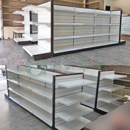 槽板層架範例B-槽板陳列架1ws